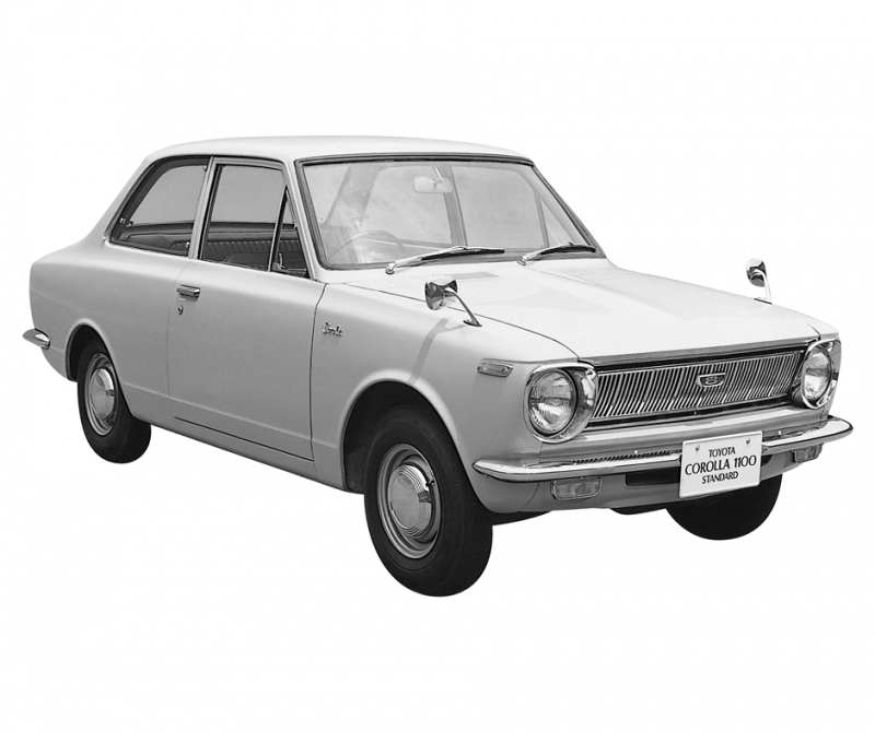 L'histoire de la Toyota Corolla