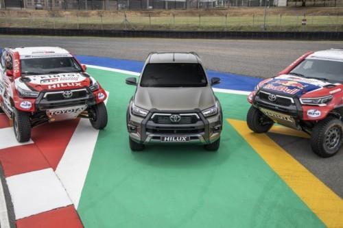 TOYOTA GAZOO Racing engagera quatre nouveaux Hilux sur le Dakar 2021